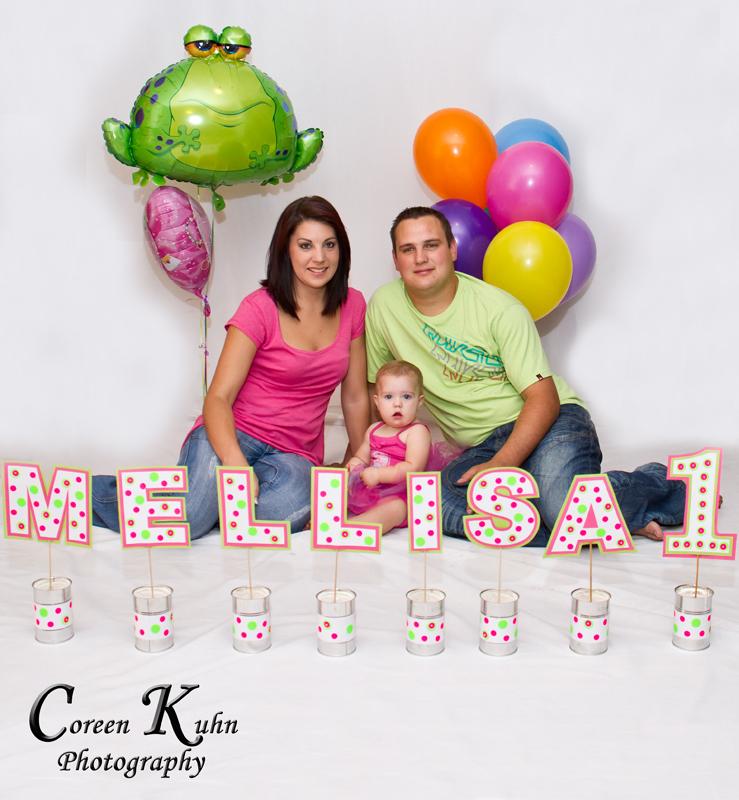 Mellisa turned 1