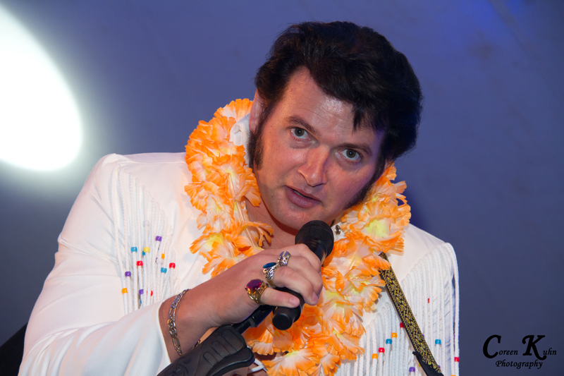 James Marais as Elvis