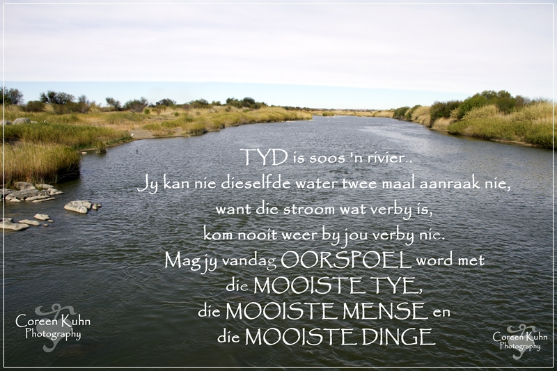 My Photo's with a Afrikaans Quote