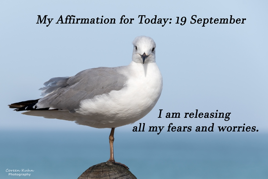 My Affirmation for today: 19 September