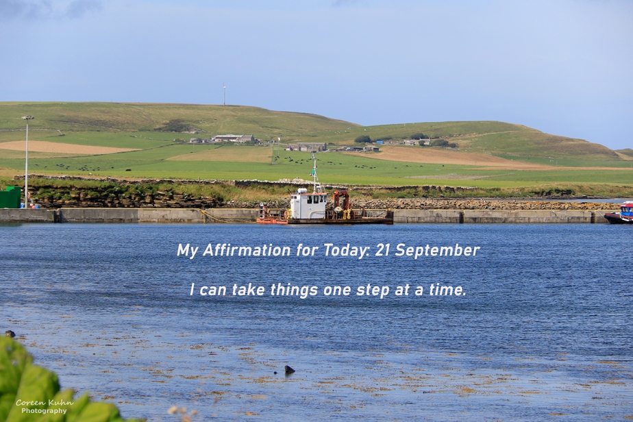 My Affirmation for today: 21 September