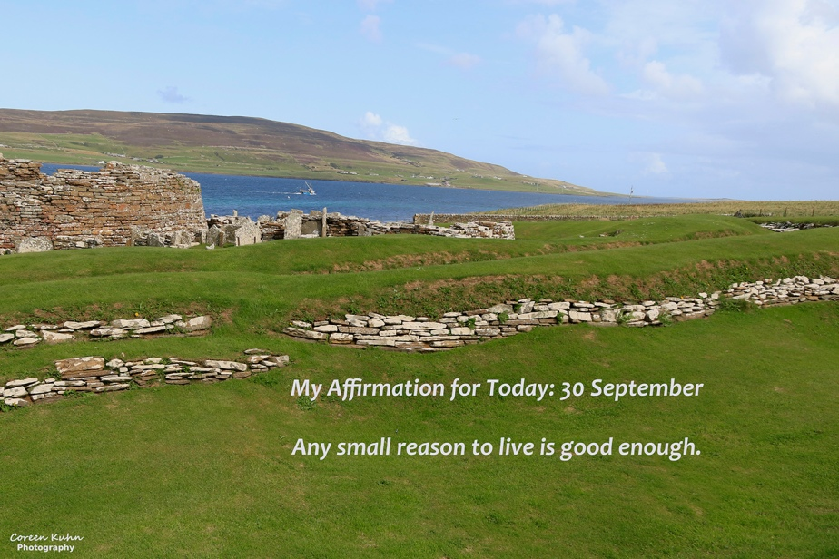 My Affirmation for today: 30September