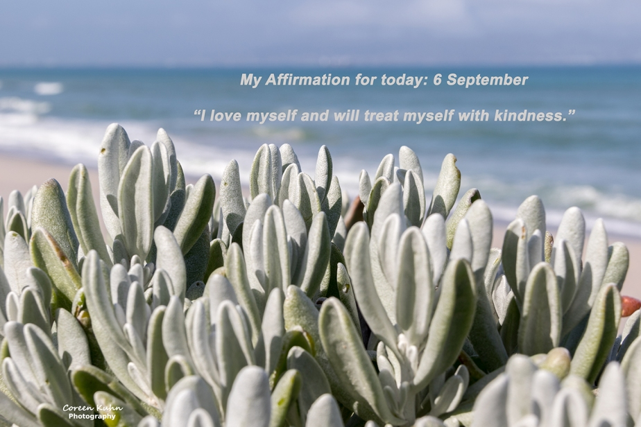 My Affirmation for today: 6 September