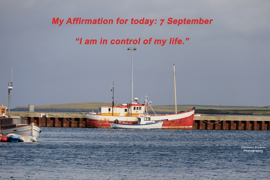 My Affirmation for today: 7 September