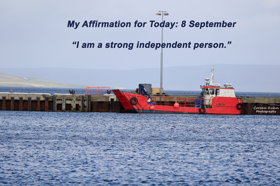 My Affirmation for today: 8 September