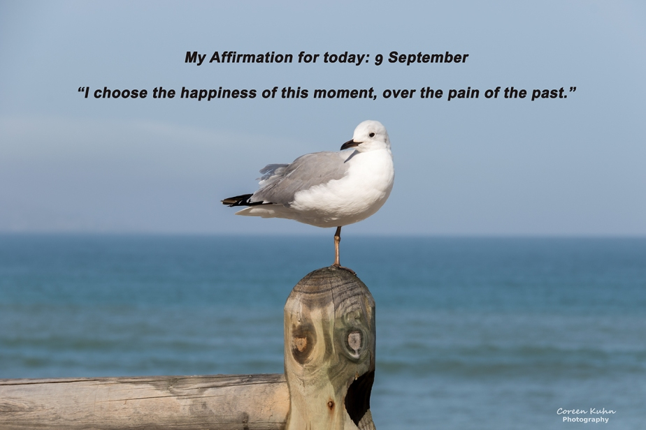 My Affirmation for today: 9 September