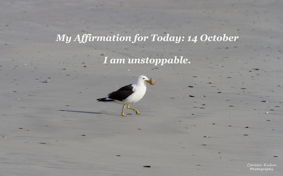 My Affirmation for Today: 14October