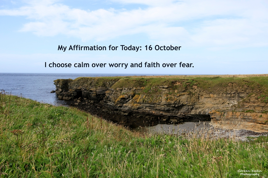 My Affirmation for Today: 16October