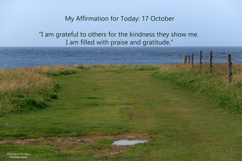 My Affirmation for Today: 17October