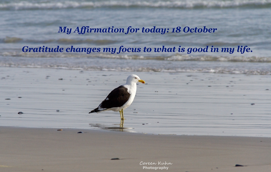 My Affirmation for Today: 18 October