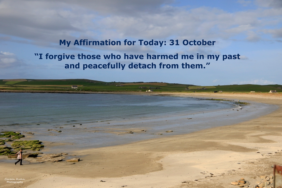 My Affirmation for Today: 31 October