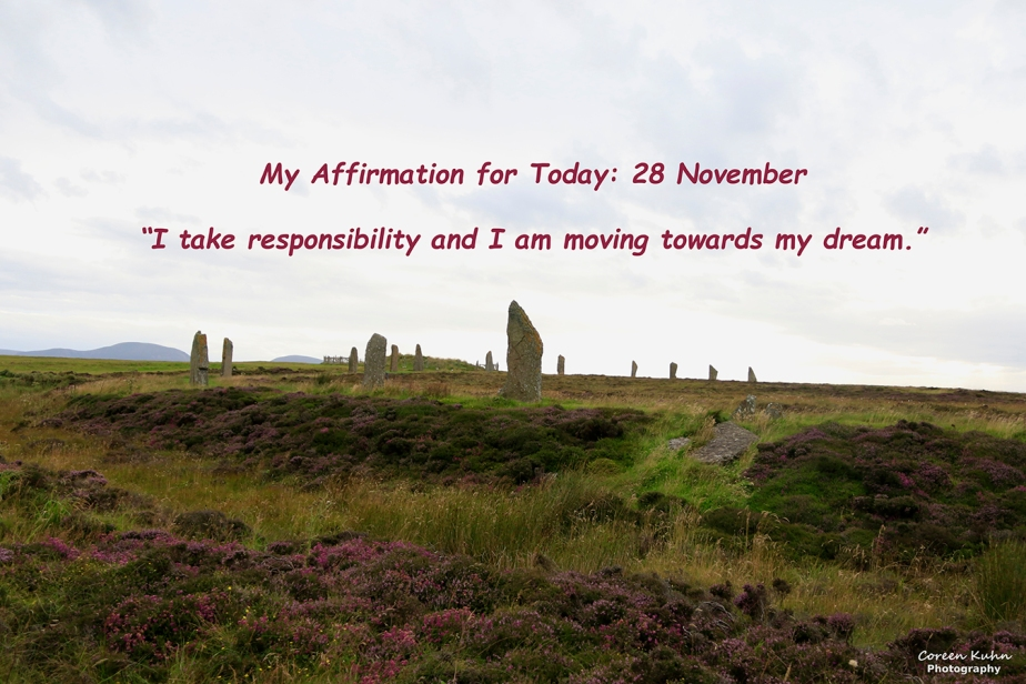 My Affirmation for Today: 28 November