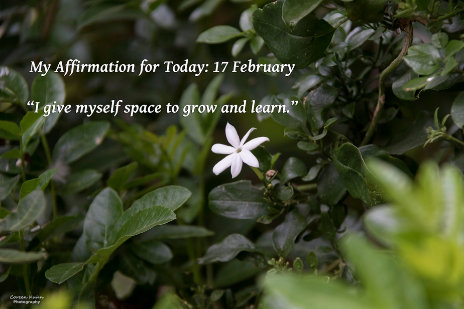 My Affirmation for Today: 17February