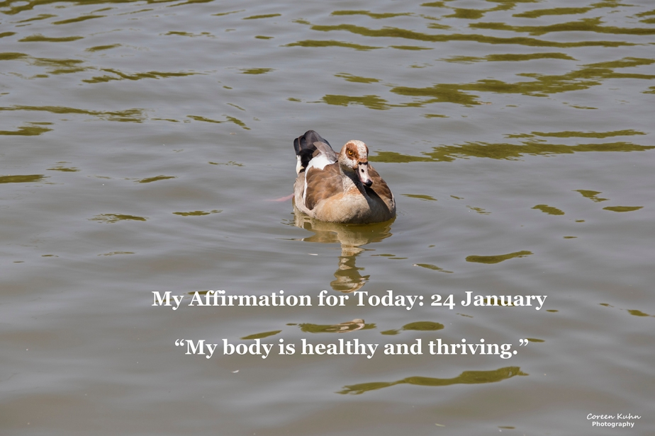 My Affirmation for Today: 24January