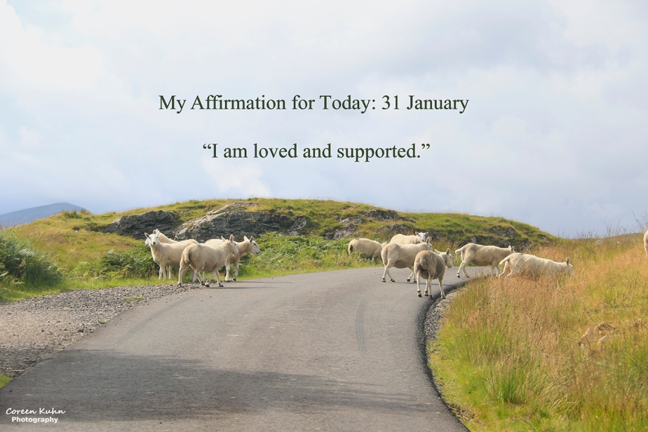 My Affirmation for Today: 31 January