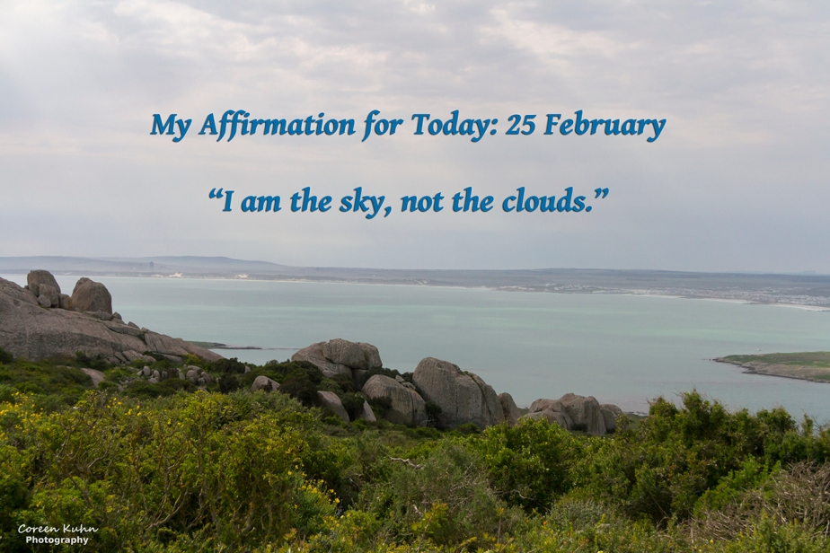 My Affirmation for Today: 25February