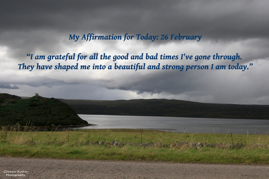 My Affirmation for Today: 26 February