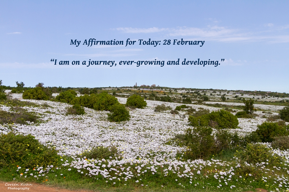My Affirmation for Today: 28 February