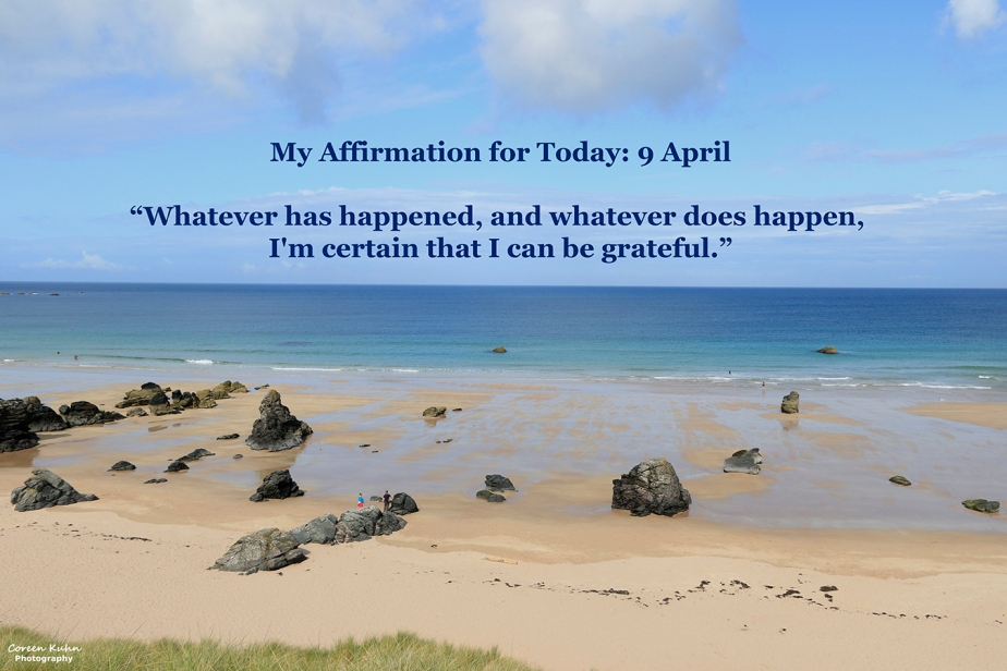 My Affirmation for Today: 9April