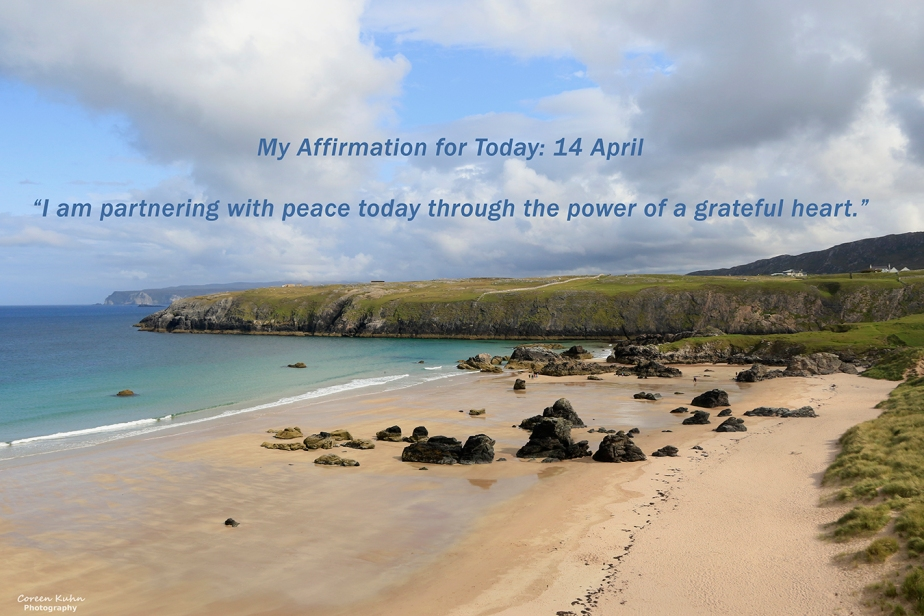 My Affirmation for Today: 14 April