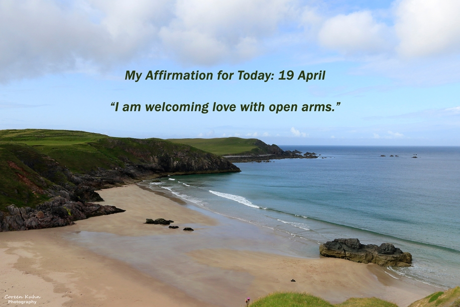My Affirmation for Today: 19 April