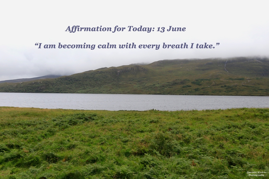 Affirmation for Today: 13 June2021