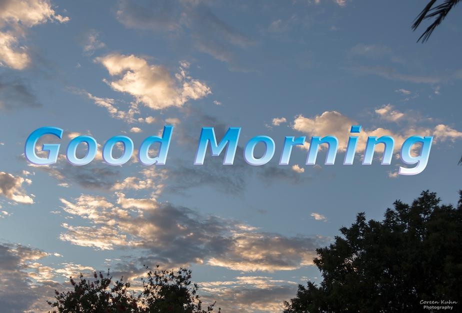 Good Morning: 31 May2021