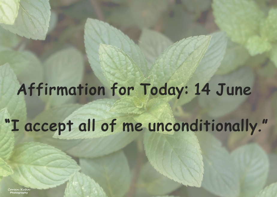 Affirmation for Today: 14 June2021
