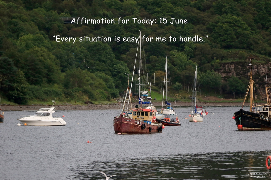 Affirmation for Today: 15 June2021