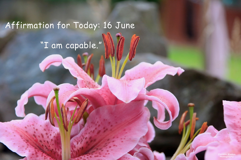 Affirmation for Today: 16 June2021