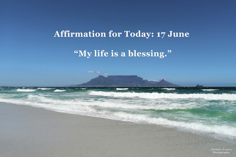Affirmation for Today: 17 June2021