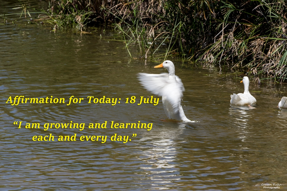 Affirmation for Today: 18 July2021