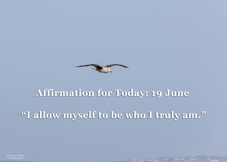 Affirmation for Today: 19 June2021