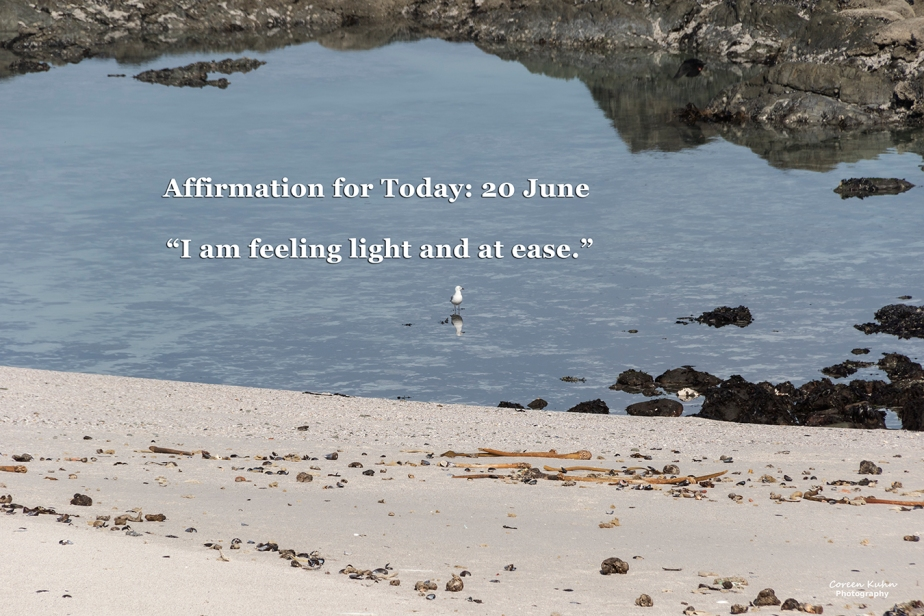 Affirmation for Today: 20 June2021