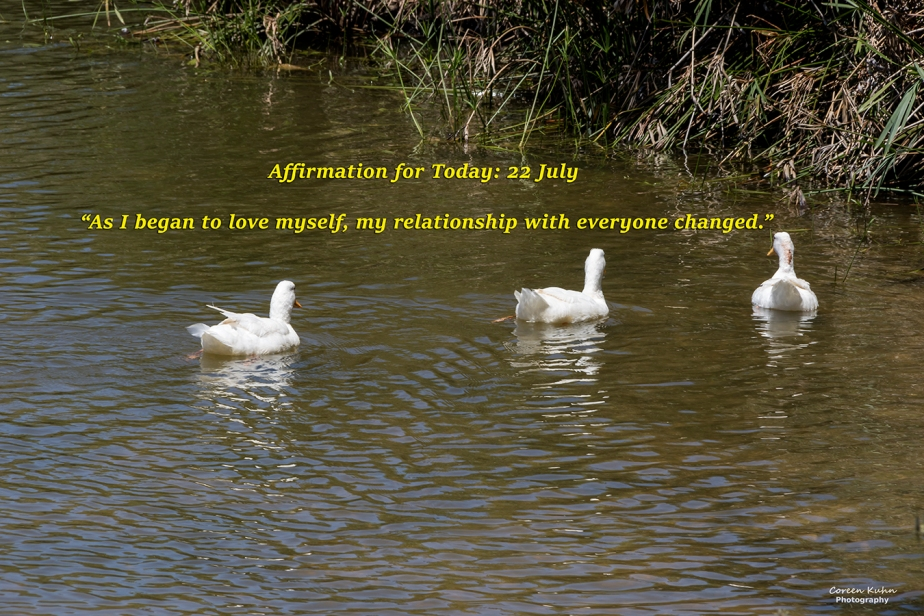 Affirmation for Today: 22 July2021