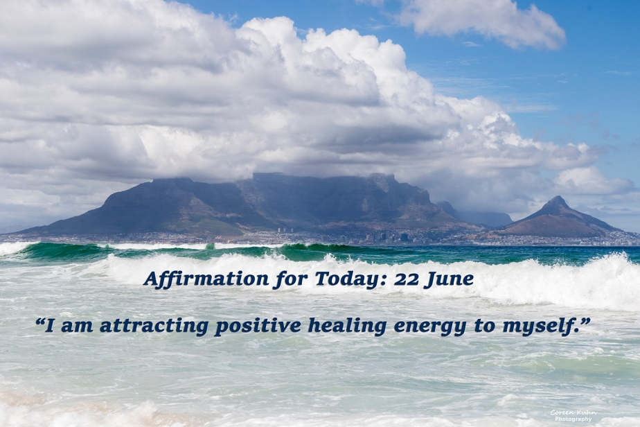 Affirmation for Today: 22 June2021