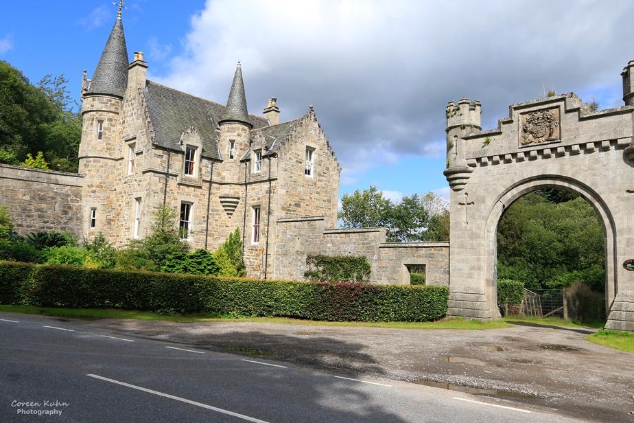 Grand Tour Of Scotland: On Route to Castle GrantGatehouse