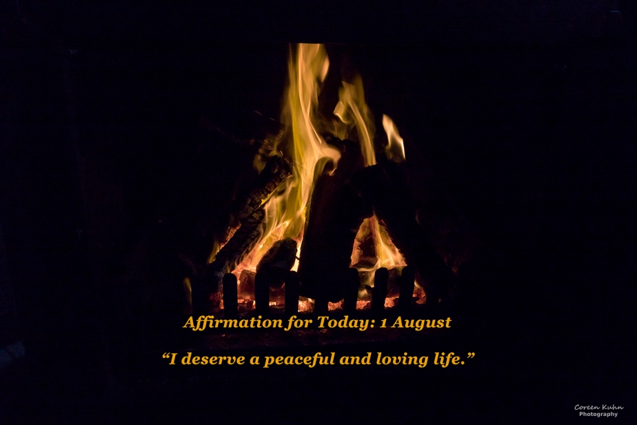 Affirmation for Today: 1 August2021