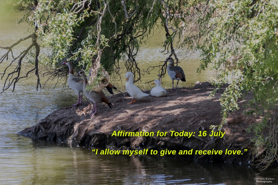 Affirmation for Today: 16 July2021