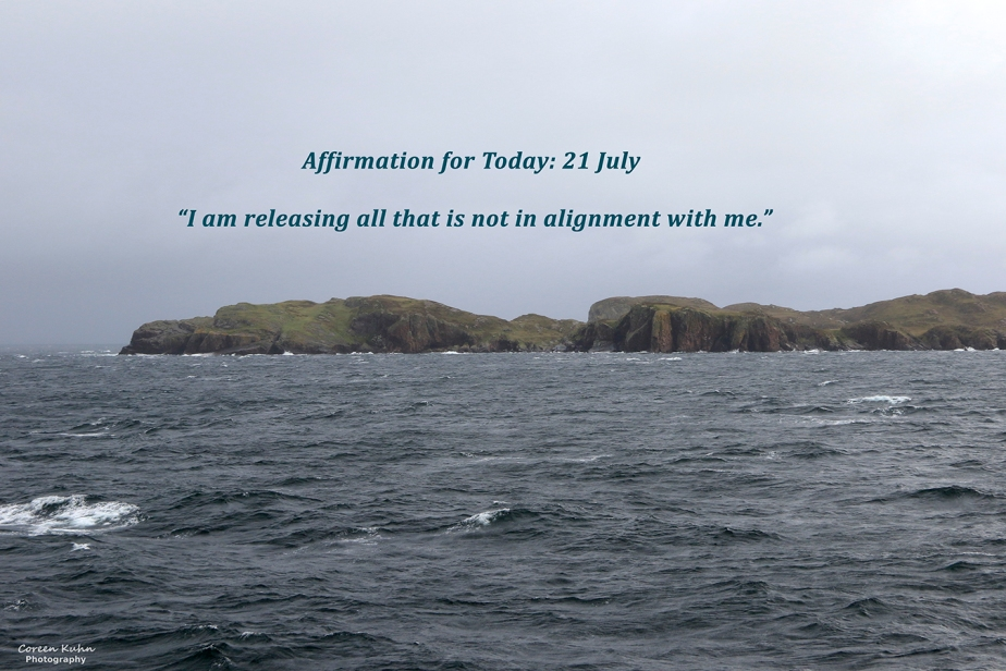 Affirmation for Today: 21 July2021