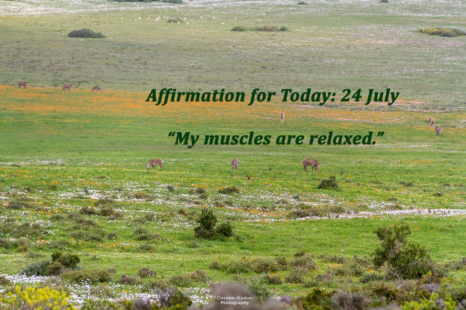 Affirmation for Today: 24 July2021
