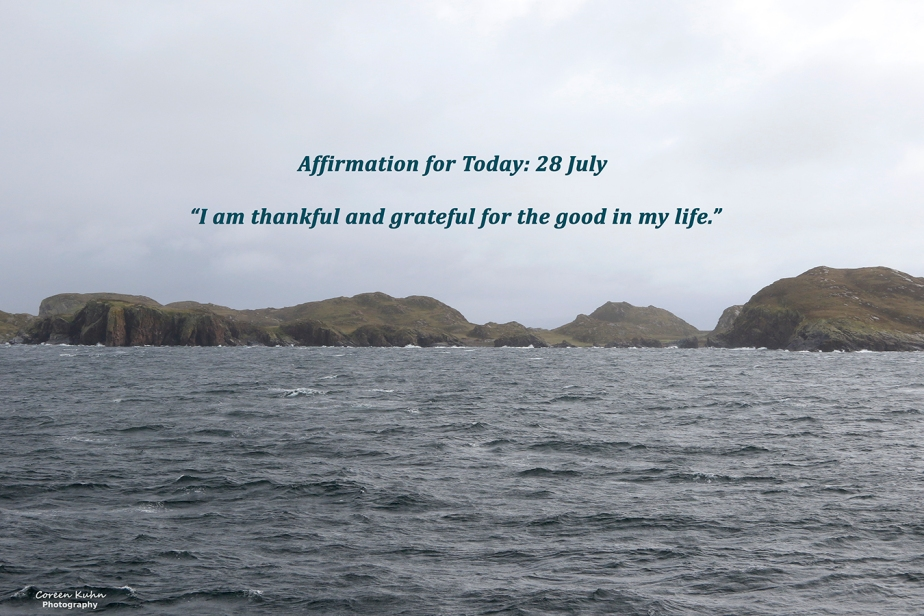 Affirmation for Today: 28 July2021