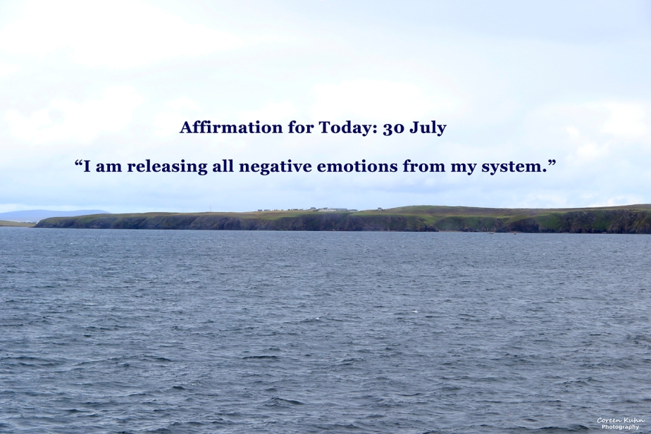 Affirmation for Today: 30 July2021