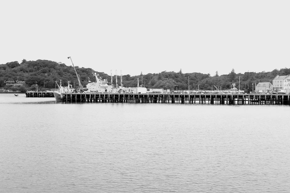 Black and White Photography: Stornoway#1