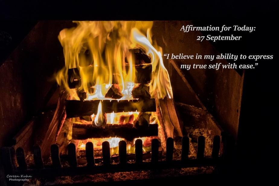 Affirmation for Today: 27 September2021