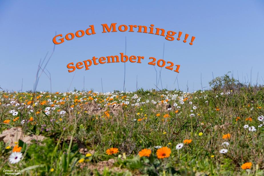 Morning Greetings: 27 September2021