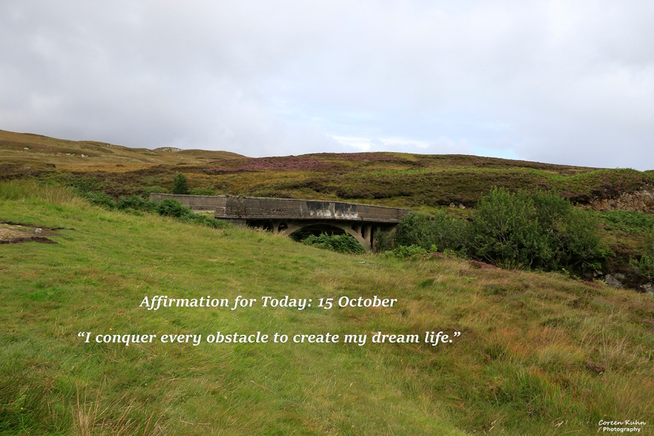 Affirmation for Today: 15 October2021