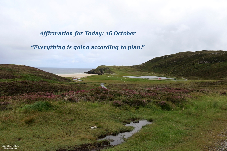 Affirmation for Today: 16 October2021