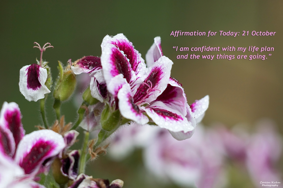 Affirmation for Today: 21 October2021
