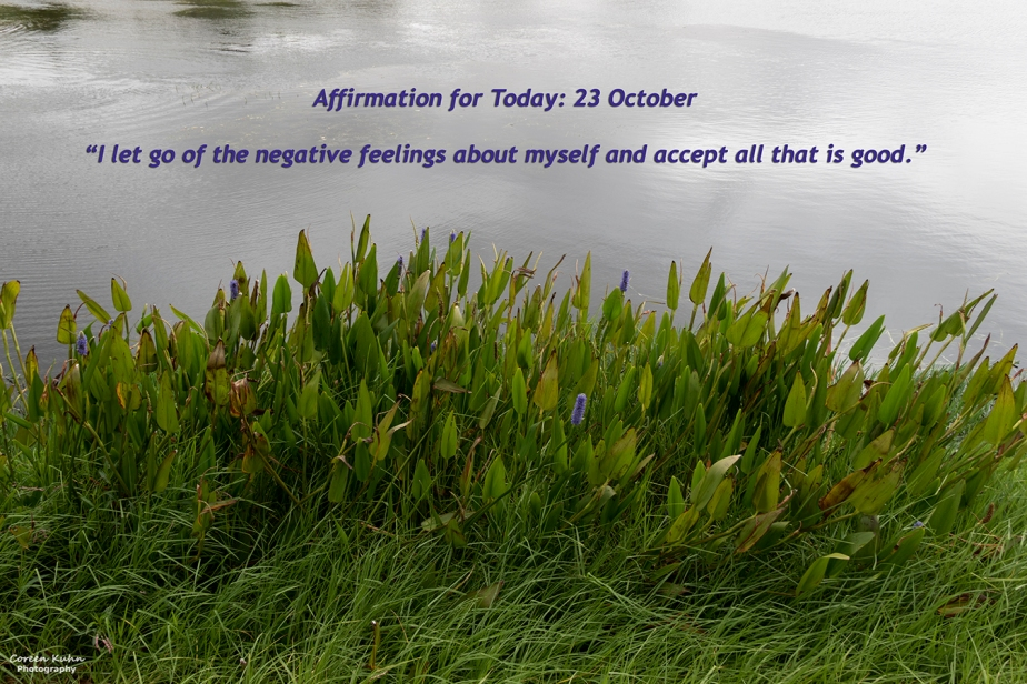 Affirmation for Today: 23 October2021